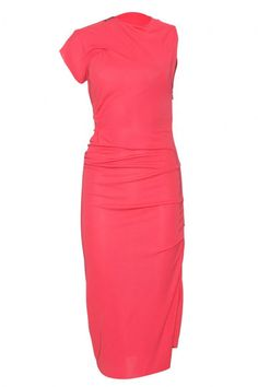 Vestido coral...roland mouret