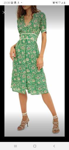 Midi Dresses Online, Green Midi Dress, Mother Of The Bride, Wrap Dress, Summer Dresses, Clothes For Women, Designer Clothing, Women's Clothing, Model