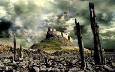 #Bamburgh #castle, #England