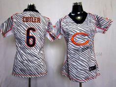 http://www.xjersey.com/nike-bears-6-cutler-women-zebra-jerseys.html Only$36.00 #NIKE BEARS 6 CUTLER WOMEN ZEBRA JERSEYS Free Shipping!