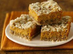 Pumpkin Streusel Cheesecake Bars Recipe (Gluten Free) by Betty Crocker Recipes, via Flickr