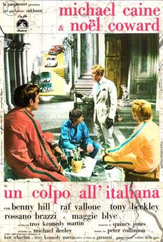 Italian Job, The Italian Photobusta Image