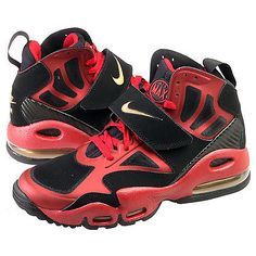 wholesale dealer db5b3 98c7b Nike Air Max Express Mens Red Black Gold Training Shoes Sz 8 for sale online