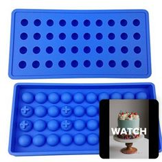 WATCH THE VIDEO to see how to use 'Mydio 40 Tray Mini Ice Ball Molds DIY Molds Tool for Child with Candy pudding jelly milk juice Chocolate mold or Cocktails & whiskey particles,Pale Blue' #review #productreview #video #tutorial #CakeDecorating #diys #recipes