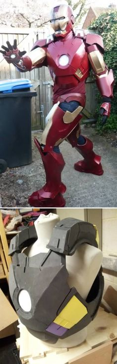 Homemade Iron Man Suit