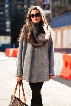 Hit de Inverno: Suéter Glam #winter #fashion #trends