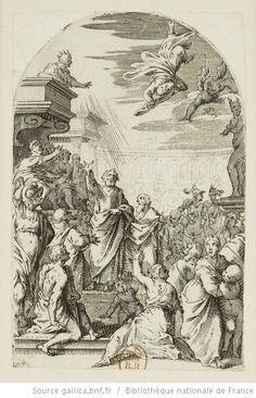[Les tableaux de Rome]. [20], [La chute de Simon le magicien] : [estampe] / [Jacques Callot] - 1