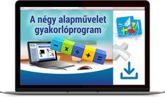 A négy alapművelet gyakorló - Tantaki Oktatóprogramok Tantra, Phone, Telephone, Mobile Phones