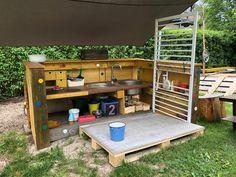 Mud Kitchen, Mud, Lawn And Garden