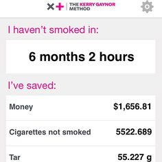 sronson: If I can do this, I promise, you can too. It wasn't easy, but nothing great ever is. Thank you @stopsmokingstartliving - being a non smoker is awesome!
