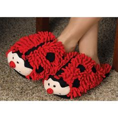 Ladybug Slippers... for keeping your footsies warm at Axosoft... SOLD!!!!!