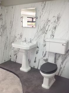 Charcoal Black Shower Waterproof Wall Panels 71d Bathroom