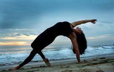 water, sun, light, yoga.