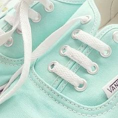 vans, shoes, and mint green image