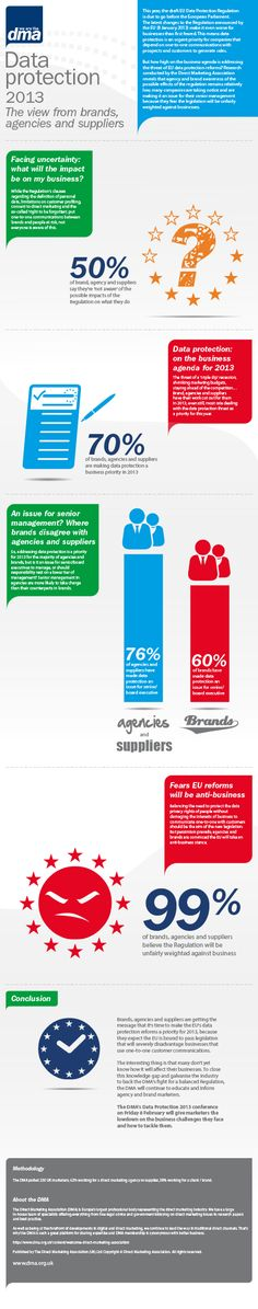 Data protection 2013 - The view from brands, agencies and suppliers
