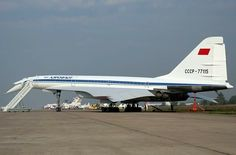 Legendary Soviet Tu-144, MAKS 2007