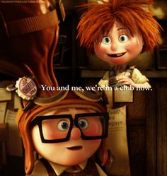 Discover and share Carl And Ellie Pixar Up Quotes. Explore our collection of motivational and famous quotes by authors you know and love. Pixar Up Quotes, Up Quotes Disney, Up Movie Quotes, Disney Up, Disney Magic, Disney Movies, Walt Disney, Disney Land, Disney Stuff