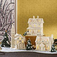 Christmas Tree 3-piece Figurine Set by Lenox