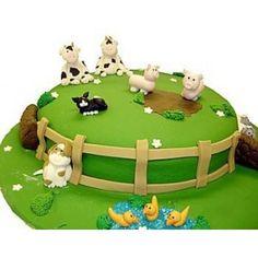 Farm Cake Decorations Uk : 1000+ images about Farmyard cake on Pinterest Farm cake ...