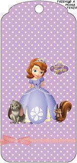 Princess Sofia the First: Party Free Printables.