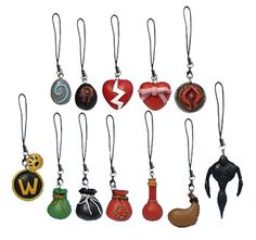 World of Warcraft cell phone charms!