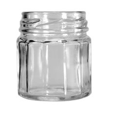 1.5 oz 12-Sided Jars 43 Lug For homemade jelly or honey to be used as guest favors