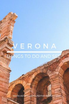 Discover the best things to do and see in Verona, a UNESCO Italian site and famous as set of Romeo and Juliet. Italy Travel Tips, Travel Destinations, Travel Europe, Milan Travel, Travel Plane, Travel Icon, Paris Travel, Backpacking Europe, Europe Packing