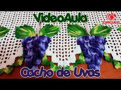 Cacho de Uvas em Crochê - YouTube