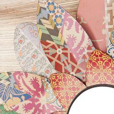 Wildon Home ®  Caroline Decorative Floral Wall Mirror