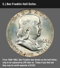 Funny pictures about These 8 Valuable Coins May Be Hiding In Your Change. Oh, and cool pics about These 8 Valuable Coins May Be Hiding In Your Change. Also, These 8 Valuable Coins May Be Hiding In Your Change photos. Rare Coins Worth Money, Valuable Coins, Old Money, Extra Money, Quick Money, All Currency, Error Coins, Coin Worth, Coin Values