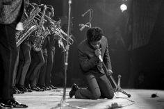 JAMES BROWN Concert à l'Olympia, à Paris, le 14 mars 1966.  Jean-Pierre LELOIR