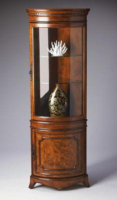 Butler Specialty Corner Curio Cabinet