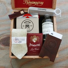 Thinking Outside the (Cigar) Box -- Cloak & Dapper Father's Day Cigar Gift Box