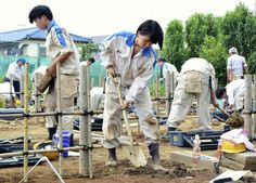 Girls have become increasingly visible in agricultural and civil engineering courses at high schools and universities, which used to be overwhelmingly male-dominated, with the proportion of female students at agricultural high schools approaching 50 percent.