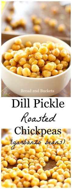 With irresistible flavor, these dill pickle roasted chickpeas are super addictin… With irresistible flavor, these dill pickle roasted chickpeas are super addicting and are the perfect healthy summer snack. Bean Recipes, Fruit Recipes, Appetizer Recipes, Diet Recipes, Cooking Recipes, Healthy Recipes, Appetizers, Recipes Dinner, Healthy Foods