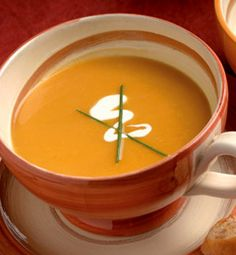 Roasted Butternut Squash Soup. Serves: 6 as a first course