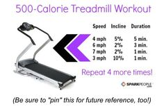 Treadmill work out