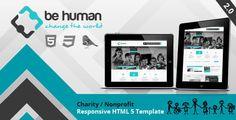 Be Human - Charity Crowdfunding & Store Theme