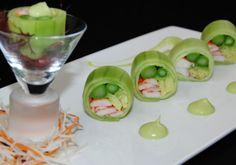 cucumber wrapped salad | Japanese Cuisine – Kuroshio Restaurant in Ann Arbor » Dinner