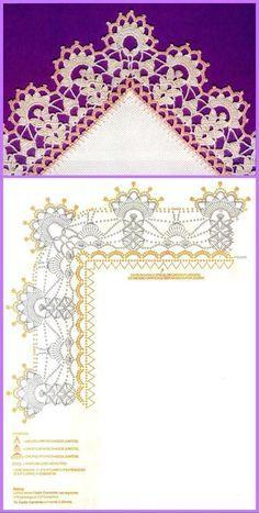 Luty Artes Crochet: Barrados em crochê + Gráficos.                                                                                                                                                      Más