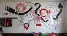 A Street Art contorcida, exposta e perturbadora de Daan Botlek. #art #atreetart #DaanBotlek