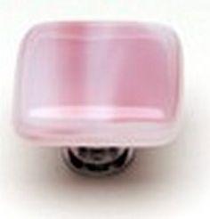Sietto Glass Cabinet Knob Cirrus Pink