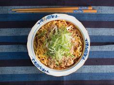 Sesame and Chile Ramen (Tantanmen) Chili Recipes, Wine Recipes, Soup Recipes, Cooking Recipes, Chowder Recipes, Asian Noodle Recipes, Asian Recipes, Ethnic Recipes