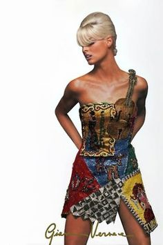 Linda for Gianni Versace