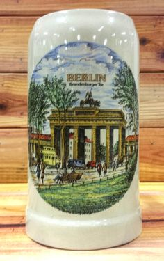 Berlin Beer Stein by ArtMaxAntiques on Etsy