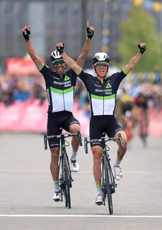 Team Dimension Data's Serge Pauwels wins Stage Three of the Tour de Yorkshire