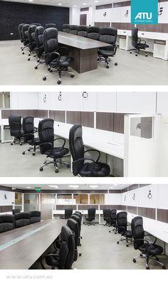 Halliburton  30 workstations focused on the optimization of space, comfort and versatility.