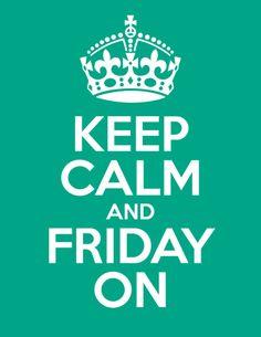 Happy Friday All!