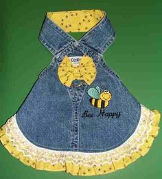 this is wicked cute Yorkies, Yorkie Dogs, Dog Overalls, Diy Dog Treats, Dog Clothes Patterns, Puppy Clothes, Dog Pattern, Girl And Dog, Old Dogs