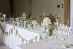 top table flower arrangements for weddings - Google Search